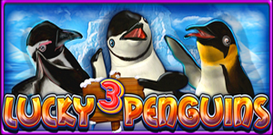 Lucky 3 Penguins Video Slot Game