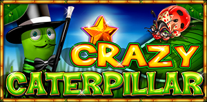 Crazy Caterpillar - Bugs Video Slot Game